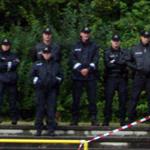 In Rostock nicht für die Heimfans zuständig: Die Pozilei
