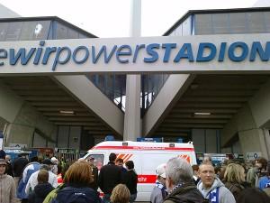 Des Ruhrstadions neuer Name: Das rewirpower-Stadion. Wurde der Fluss auch umbenannt?