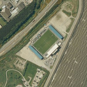 Leopedia-Stadionsuche: wo ist denn da? Teil 3 Quelle: Google Maps