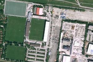 Stadionsuche Teil 9 - wo sind wir? Quelle: Google Maps