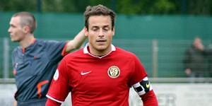 Augen zu: Benedetto Muzzicato verließ den FC Oberneuland nach der Pleite und spielt jetzt beim TSV Ottersberg.