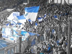 Hatten Grund zum Jubeln, taten dies aber leider auch während der Schweigeminute: die Fans des VfL Bochum